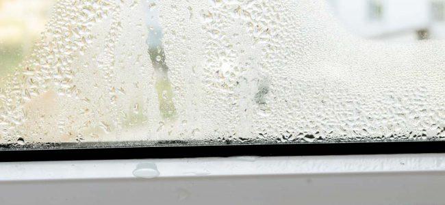 condensatievocht op raam