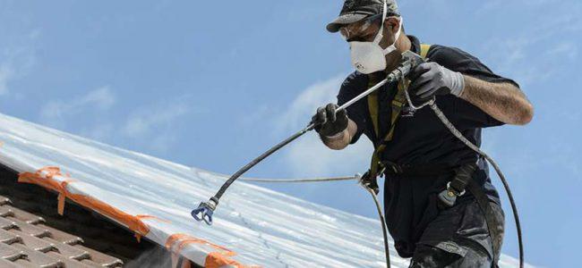 reinigen van dak