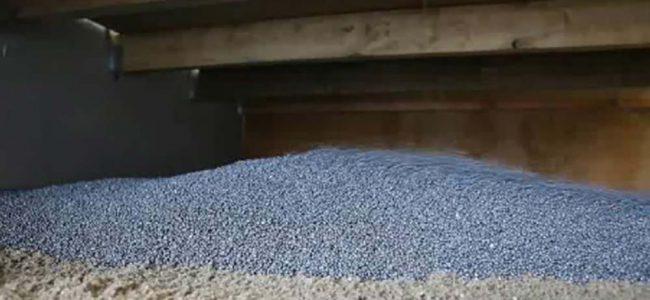 Keldervloer isolatiemateriaal.
