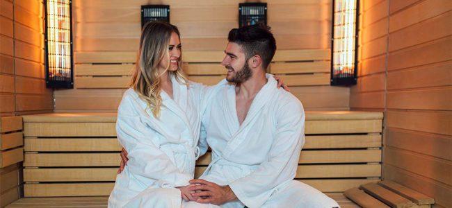 Koppel in sauna