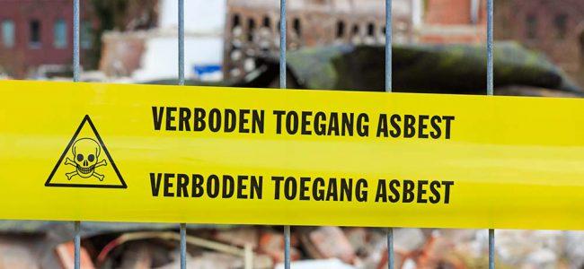 Verbod asbest