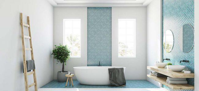 Moderne badkamer.