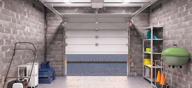 Garage met poort