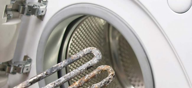 kalk in wasmachine