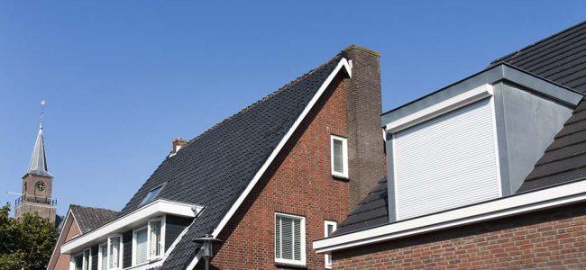 rolluiken op het dak